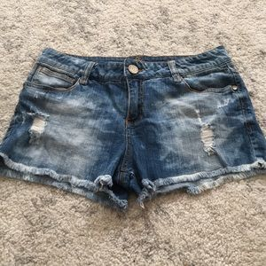 Almost Famous Jean Shorts